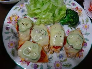 チキンのチーズ焼き1227