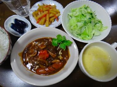 夕飯120120