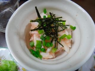 長芋の明太あえ0202