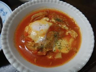 卵入りミネストローネ0309