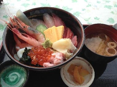 海鮮丼0320