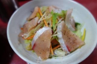 ぶりのお刺身サラダ1023