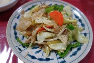 肉野菜炒め1027