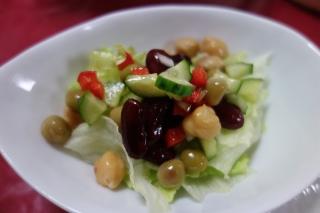 お豆のサラダ1111