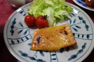 鮭の味噌マヨ焼き1130