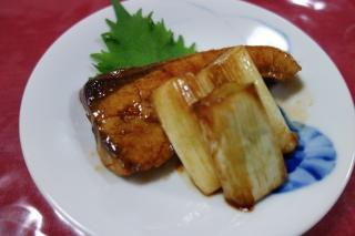 ぶりのポン酢焼き1202