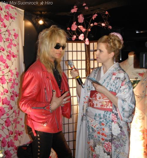 Carity Tavastia 27.03.2011 Michael Monroe