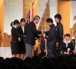 20110103rikujo閉会式富永・大津(撮影者・吉田早紀)