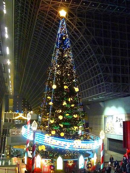 JR京都駅ツリー