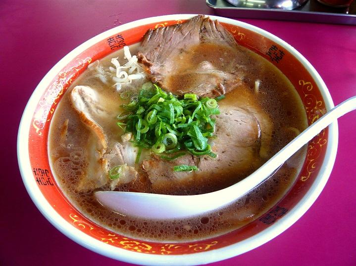 豚菜館中華そば1