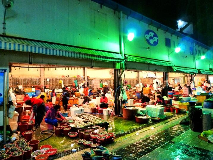 チャガルチ市場1