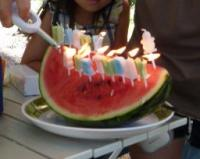 birthday watermelon