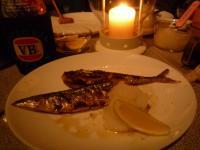 炭焼き秋刀魚
