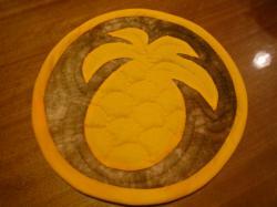 パイナップル鍋敷き
