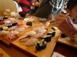 佐島港のお寿司