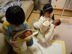 双子babys