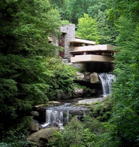 fallingwater facade