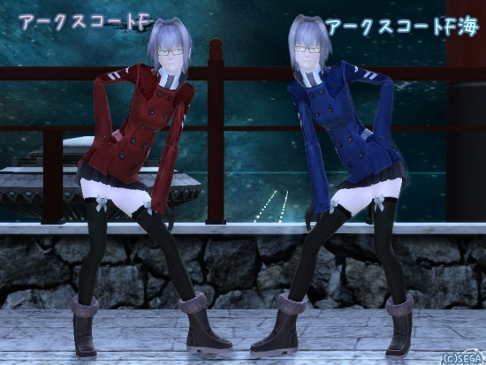 PSO2 アークスコートF