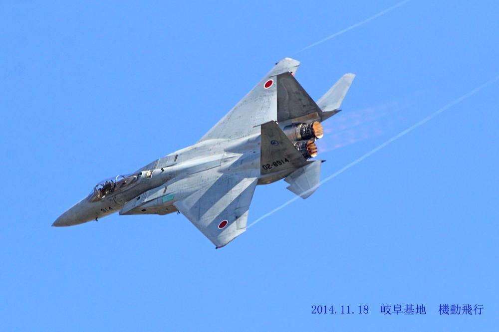 岐阜基地 航空祭予行撮影 F15