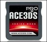 3DSが割れた!?3DS用タイトルが起動できるマジコン「Ace3DS Pro」が登場!