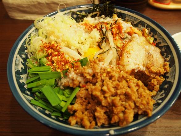 キムチまぜそば+ライス(小)/麺屋 GOO ~noodle house~ - 趣味 ...