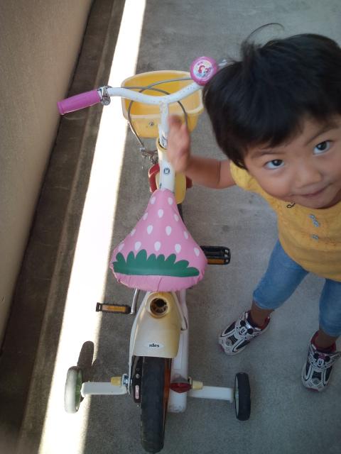 11/16 初めての自転車! | pomboo ...