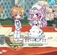 民ちゃん結婚式てれてれ