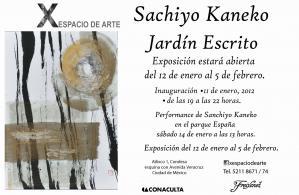 Inauguración Exposición Sachiyo Kaneko.. 11-01-12