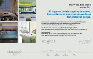 Starwood Spa Week19 - 25.07
