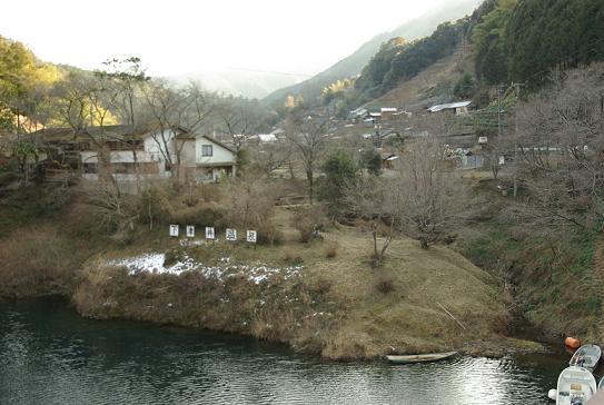 下津井温泉 湖畔