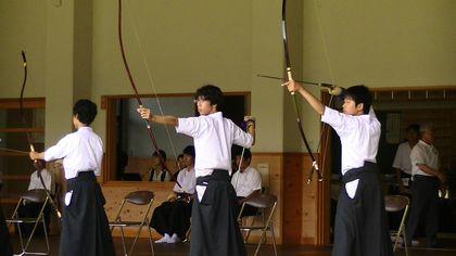 弓道団体戦