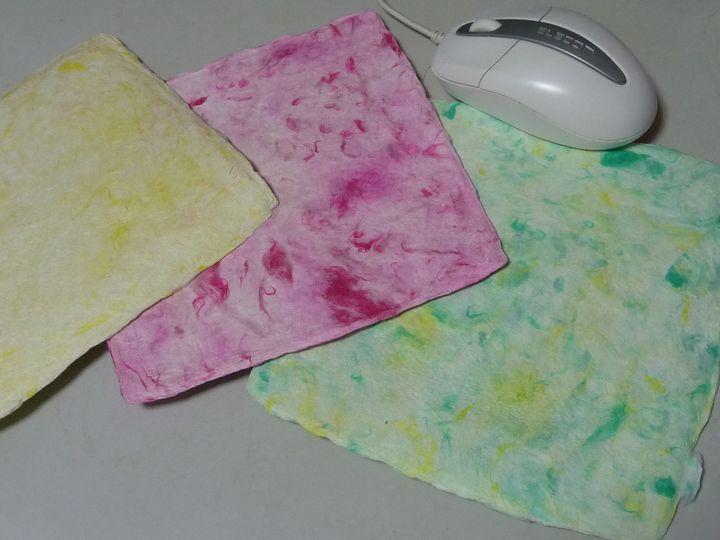 和紙のマウスパッド