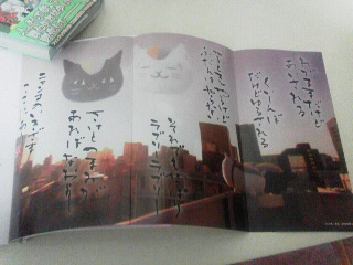 夏目友人帳17巻と画楽帳 (3)