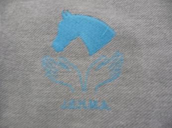 馬のマッサージ用ポロシャツ2