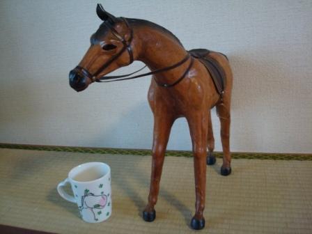 馬の置物2