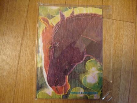 馬のノート