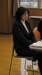 新たに就任しました崎浦公民館の主事三浦さんです。