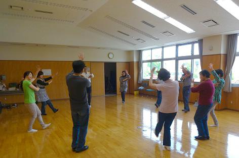 田上じよんからをしっかりと練習しました。