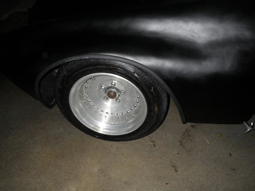タイヤを洗う (2)