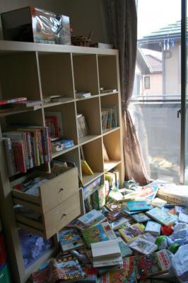 おねぇの本棚,ひどい事になってます