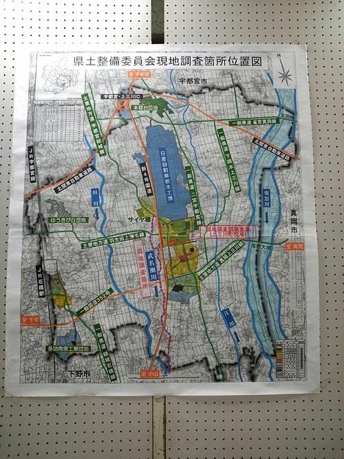 栃木県議会<県土整備委員会>現地調査!上三川町①