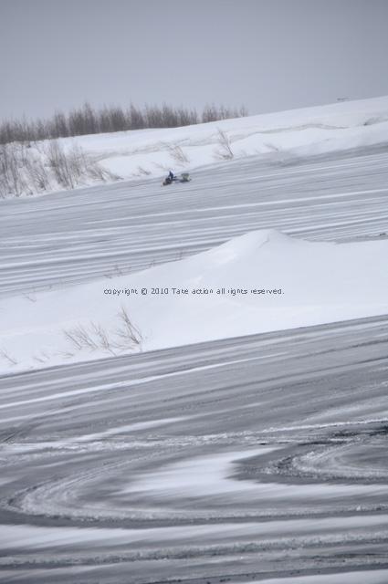 2012・3美瑛融雪剤2
