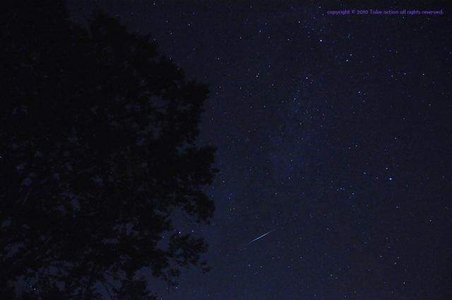 2012・10・8りゅう座流星群