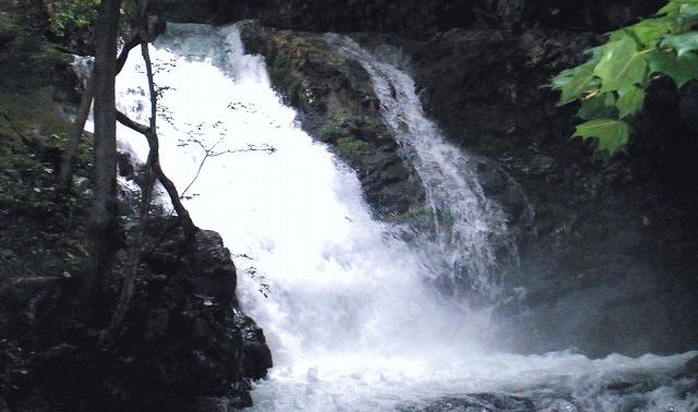 山馬越大滝