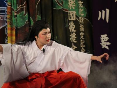 羽佐竹神楽団 滝夜叉姫1