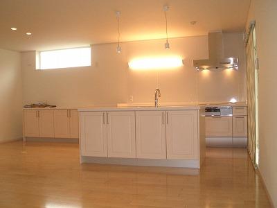 A様邸キッチン1
