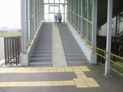 あいの里教育大駅入り口2