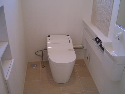 江別Y様邸 トイレ