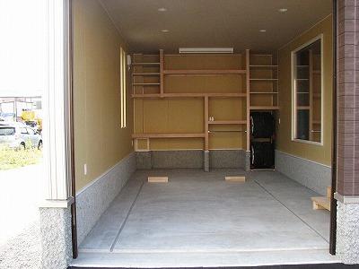K様邸車庫2