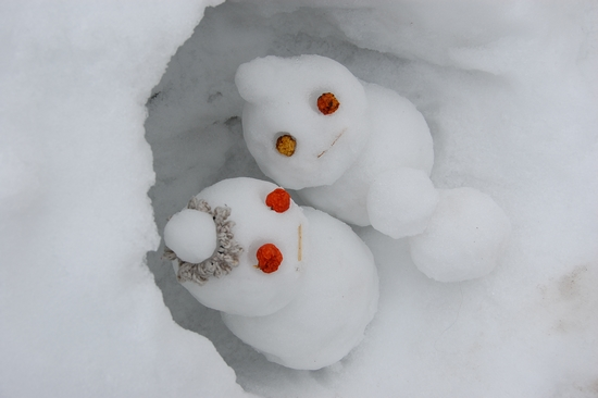 2雪だるま